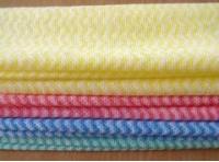 波浪花纹无纺布抹布,水刺布厂家,皮革基布厂家